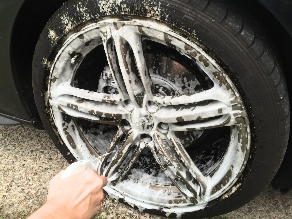 step 2 clean your wheels