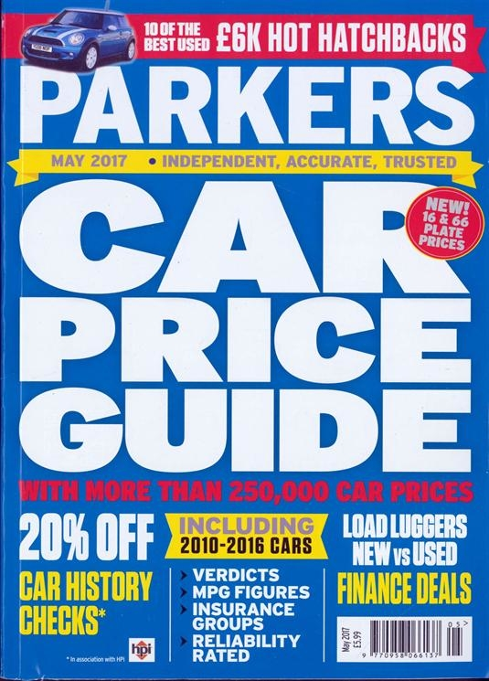 Selling your car: Parkers Used car price guide