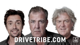amazon prime service - the grand tour & drivetribe. Clarkson, Hammond & May