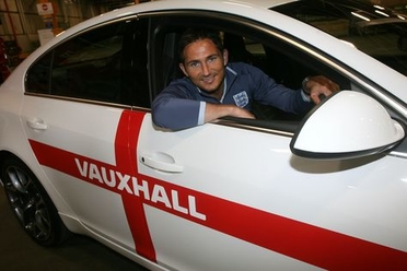 frank lampard in vauxhall insignia