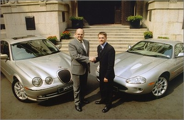 Michael Owen and jaguar