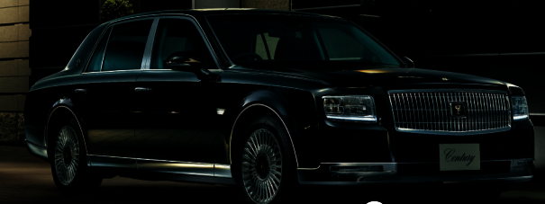 brand new third generation toyota century