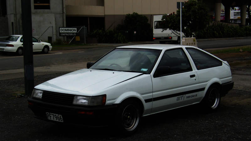 toyota car inspiration - AE86