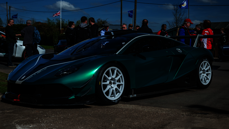 Hussarya GT supercar at Shelsey Walsh - motoreasy reviews