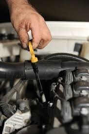 how to check your oil make sure it's checked on a diesel car