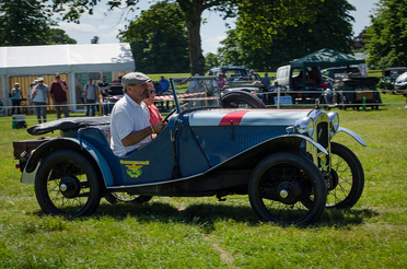 Austin Seven Rally MotorEasy Beaulieu Driving Vintage