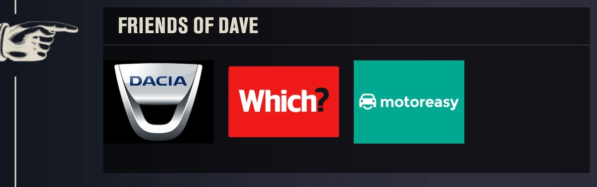 MotorEasy Dave Friends Advert Sponsorship TV Which