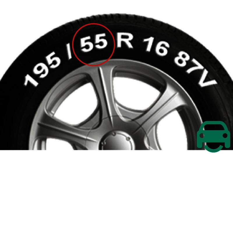 Tyre Size Markings - Height and low profile tyres