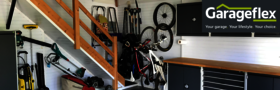 Garageflex garage organisation tidy managed solutions