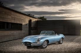 Electric Jaguar E-type