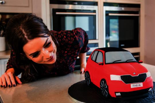 candice brown skoda cake
