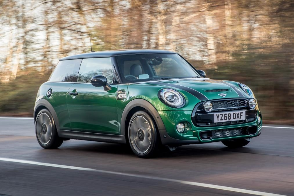 Mini cooper 60 year edition model