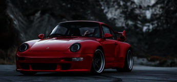 Gunther 911 Porsche Red Car
